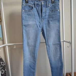 Madewell 10 in Skinny Jeans
